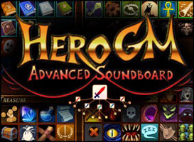 HeroGM Advanced Soundboard