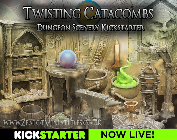Zealot Miniatures Kickstarter Campaign